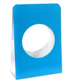 Portant boule bleu turquoise (x6) REF/4437