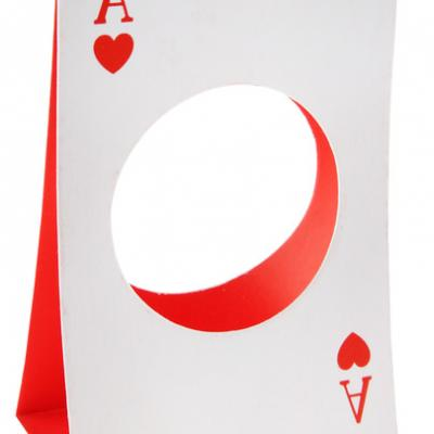 Portant boule poker 5cm (x6) REF/70290