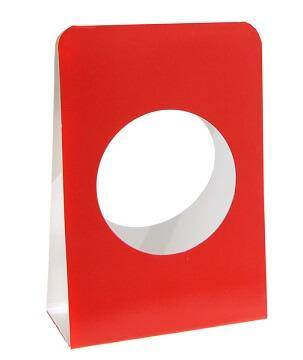 Portant boule rouge (x6) REF/4437