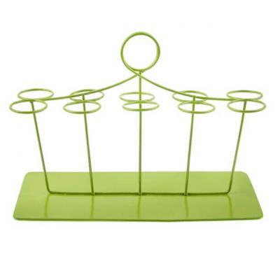 Portant éprouvettes rectangulaire vert (x1) REF/4075