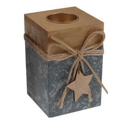 Porte-bougie étoile: Or (x1) REF/5512