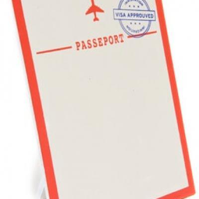 Porte menu passeport (x1) REF/DEC772