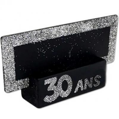 Marque-place argent anniversaire 30ans (x2) REF/MPP03