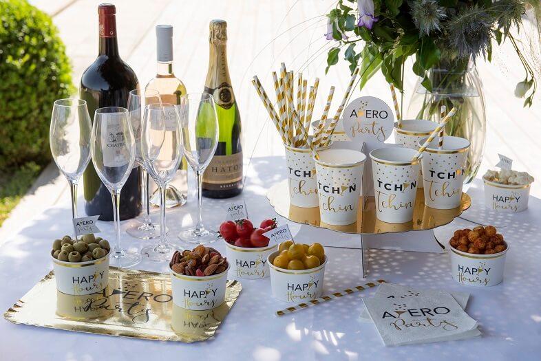 Presentoir vin d honneur mariage