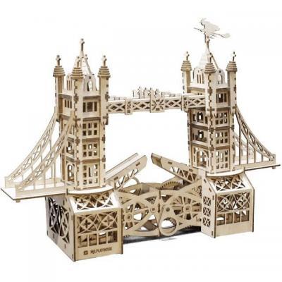 Puzzle 3D en bois Mr. Playwood Tower Bridge (x1) REF/PWTO
