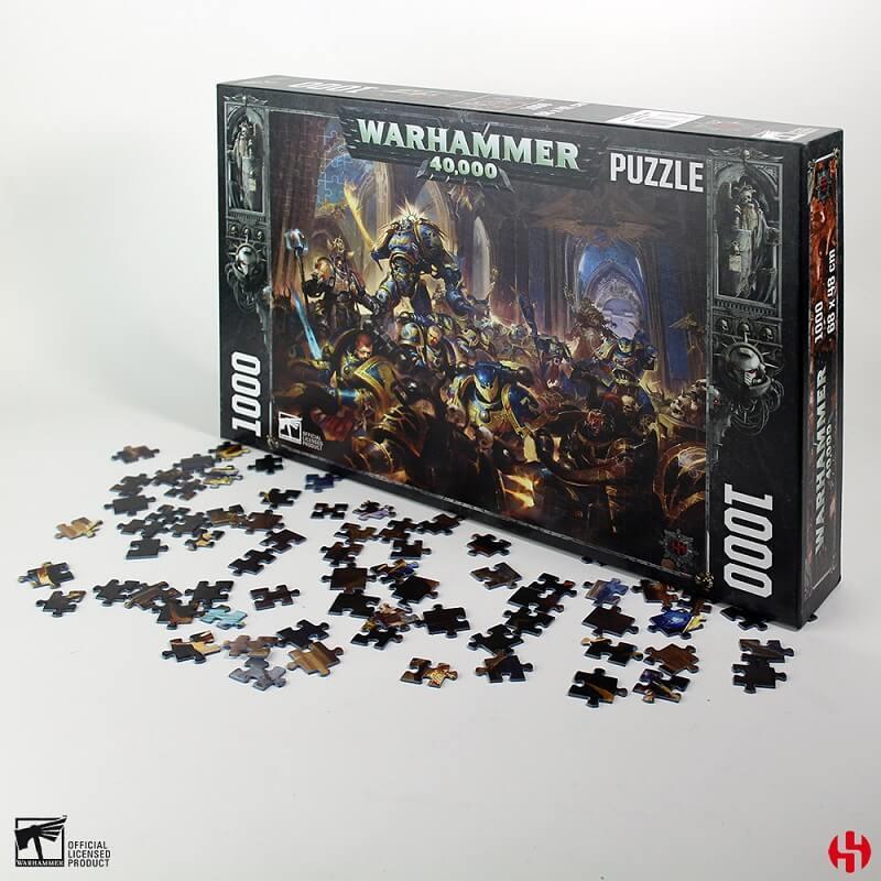 Puzzle warhammer 40k dark imperium 1000 pieces
