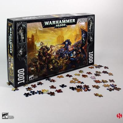 Puzzle Warhammer 40K : Roboute Guilliman vs Black Legion (1000 pcs) REF/SEM7731