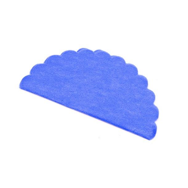 Rond intisse bleu royal pour dragee