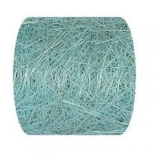 Ruban abaca bleu 7cm x 5m (x1) REF/2847
