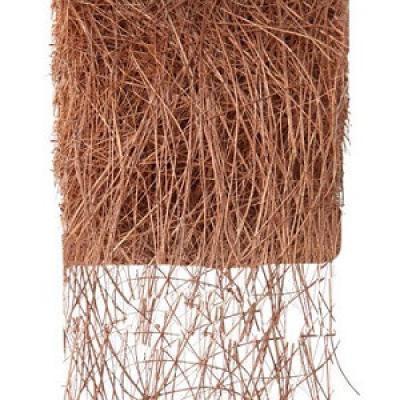 Ruban abaca cuivre 7cm x 5m (x1) REF/2847
