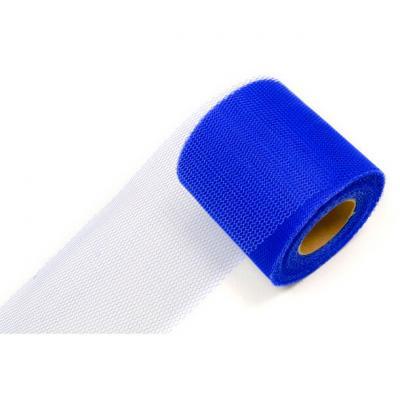 Ruban tulle bleu royal 8cm x 20m (x1) REF/RL290