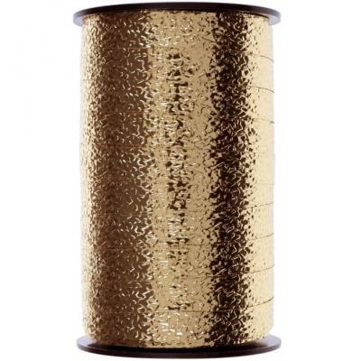 Bolduc gaufré or 10mm x 25m (x1) REF/6472