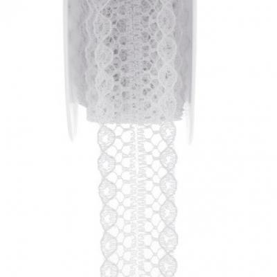 Ruban dentelle blanc (x1) REF/5554