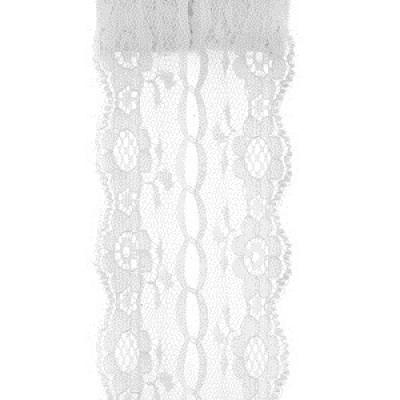Ruban dentelle blanc (x1) REF/5489