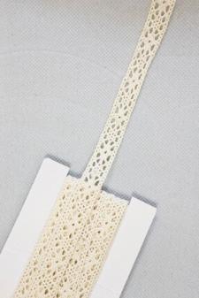 Ruban dentelle ivoire, 3m (x1) REF/RU363