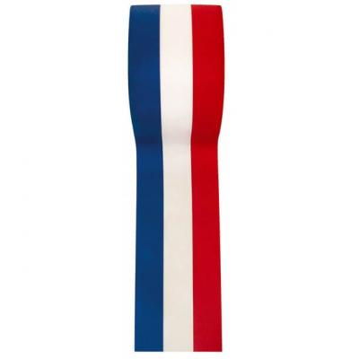 Ruban tricolore France, 10mm x 25m (x1) REF/2800