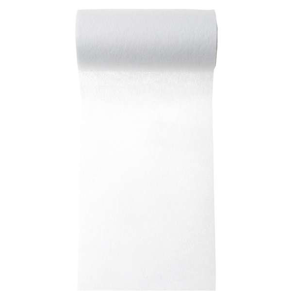Ruban in tisse blanc 1