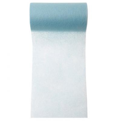 Ruban in tissé bleu ciel 10cm x 10m (x1) REF/2814