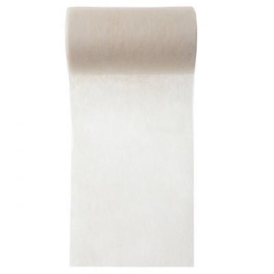 Ruban in tissé ivoire 10cm x 10m (x1) REF/2814