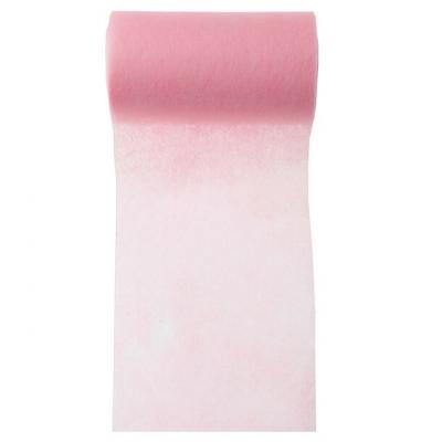 Ruban in tissé rose 10cm x 10m (x1) REF/2814