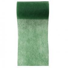 Ruban in tissé vert sapin 10cm x 10m (x1) REF/2814