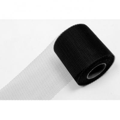 Ruban tulle noir 8cm x 20m (x1) REF/RL290