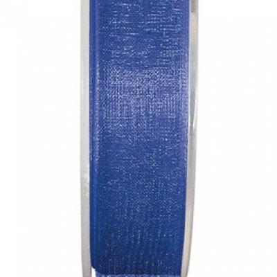 Ruban organdi 7mm bleu roy (x1) REF/2558