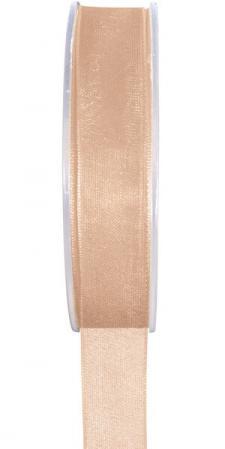 Ruban organdi 3mm corail (x1) REF/2558