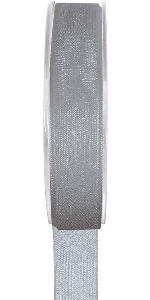 Ruban organdi gris 3mm