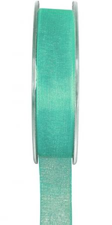 Ruban organdi 7mm mint (x1) REF/2558