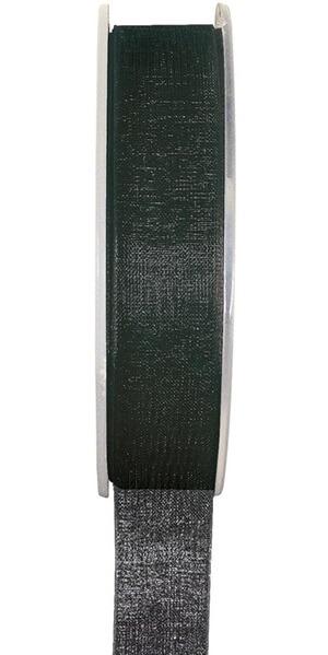 Ruban organdi noir 7mm