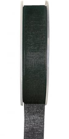 Ruban organdi 7mm noir (x1) REF/2558
