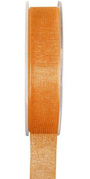 Ruban organdi orange 3mm