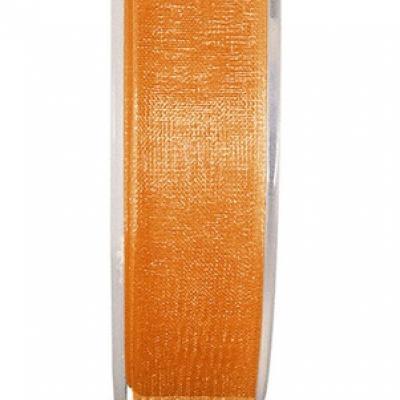 Ruban organdi 3mm orange (x1) REF/2558