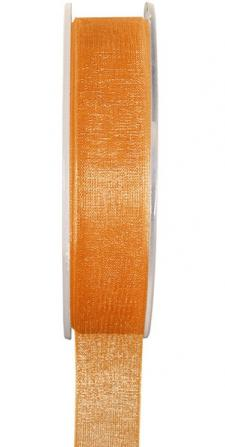 Ruban organdi 3mm orange (x1) REF/2558