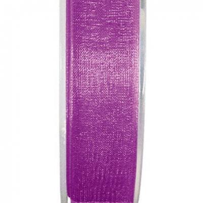 Ruban organdi 7mm prune (x1) REF/2558