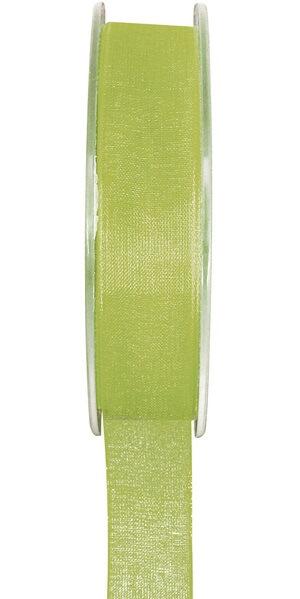 Ruban organdi vert 7mm