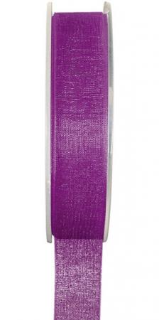 Ruban organdi 15mm violet (x1) REF/2558