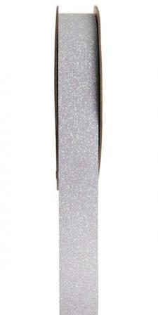 Ruban pailleté autocollant blanc (x1) REF/5265
