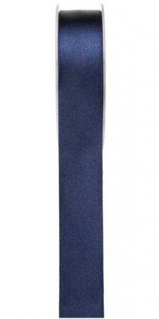 Ruban satin, 25mm: Bleu marine (x1) REF/2719