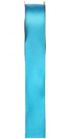 Ruban satin, 25mm: Bleu turquoise (x1) REF/2719