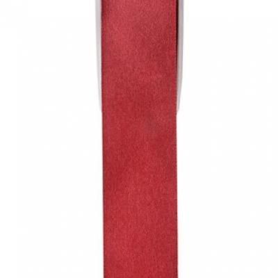 Ruban satin, 25mm: Bordeaux (x1) REF/2719