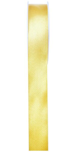 Ruban satin 25mm jaune