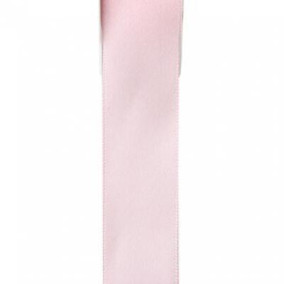 Ruban satin, 25mm: Rose (x1) REF/2719