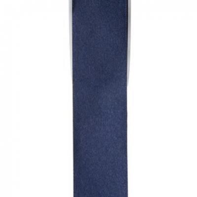 Ruban satin, 3mm: Bleu marine (x1) REF/2719