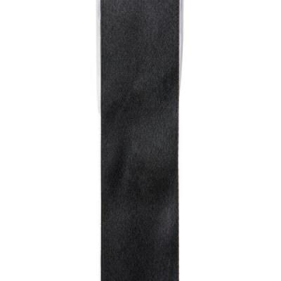 Ruban satin, 3mm: Noir (x1) REF/2719