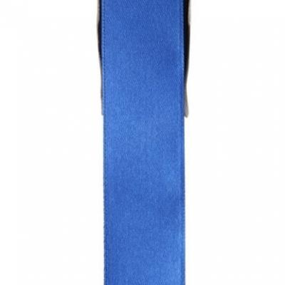 Ruban satin bleu 15mm x 25m (x1) REF/2719