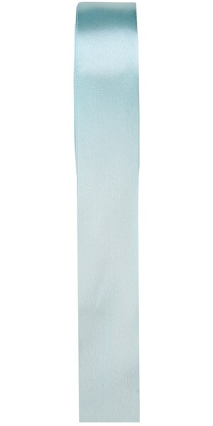 Ruban satin bleu ciel 15mm