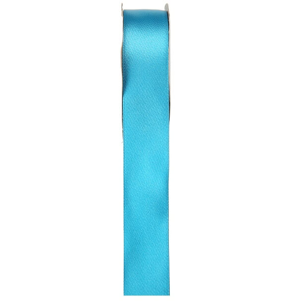Ruban satin bleu turquoise 6mm x 25m