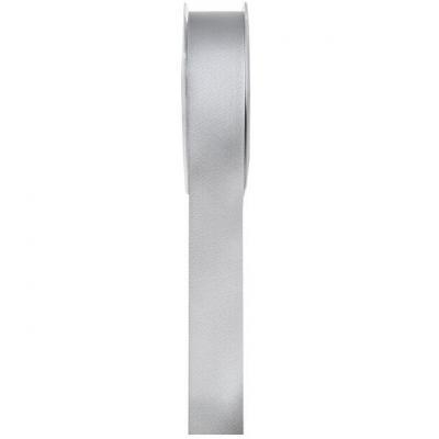 Ruban satin gris 6mm x 25m (x1) REF/70080